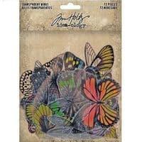 Tim Holtz - Idea-ology - Transparent Wings - Colour